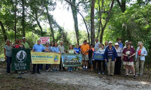 stwalkgroup In: Rep Yoho, North Florida citizens call for accountability for faulty pipeline project | Our Santa Fe River, Inc. (OSFR) | Protecting the Santa Fe River